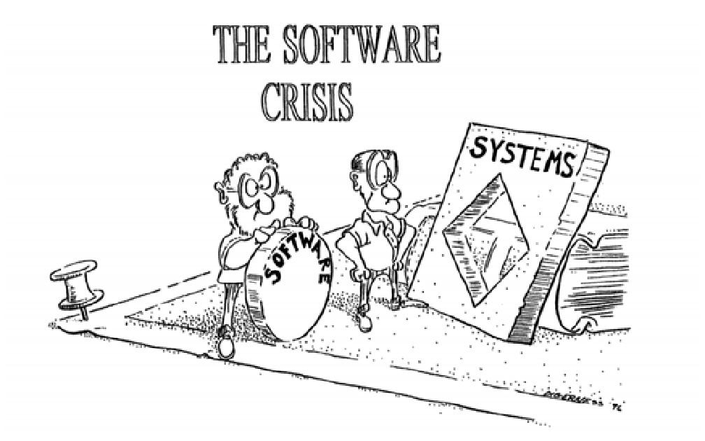 crisis en el diseño de software